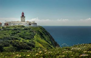 Cape of Roca in Sintra Portugal