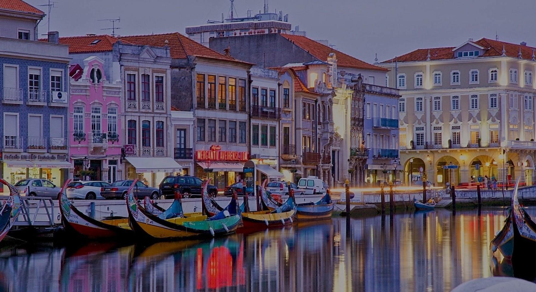 Passeio Aveiro e Coimbra saindo do Porto