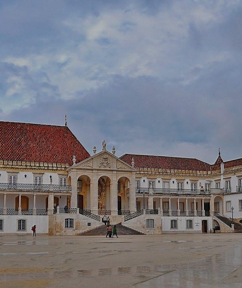 Paseo Coimbra e Tomar saliendo de Lisboa