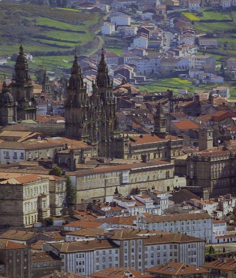 Santiago de Compostela Tour from Oporto