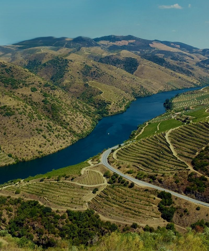 Paseo del Valle del Duero saliendo de Oporto